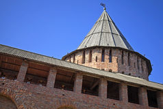 Kremlin in Smolensk, Russia Stock Image