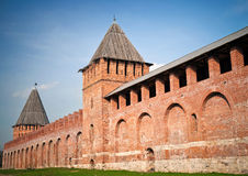 Kremlin in Smolensk, Russia Royalty Free Stock Photography