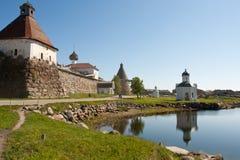 kremlin solovki Royaltyfri Bild
