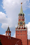 Kremlin Spasskaya tower in Moscow Royalty Free Stock Image
