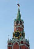 Kremlin Spasskaya wierza Obraz Royalty Free