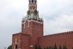 kremlin Spasskaya & x28; Frolov& x29; Torre Imagens de Stock
