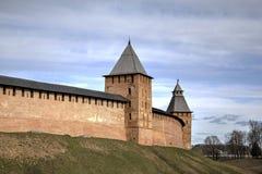 kremlin spasskayatorn Arkivfoton