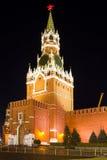 kremlin spasskayatorn Arkivbild