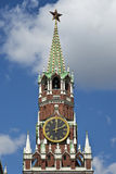 Kremlin spassky tower Stock Photography