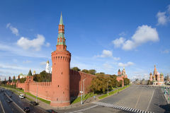 Kremlin and St Basil Cathedral , Moscow Royalty Free Stock Image