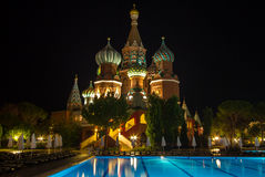 Kremlin style hotel, Antalya, Turkey Stock Photography