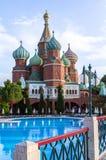 Kremlin style hotel, Antalya, Turkey Stock Photos
