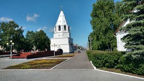 The Kremlin in Syzran. Gate Church of Syzran Kremlin Royalty Free Stock Photo