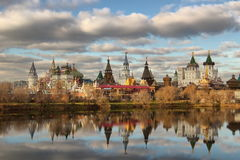 The Kremlin to Izmailovo Stock Photo