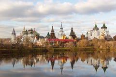 The Kremlin to Izmailovo Stock Image
