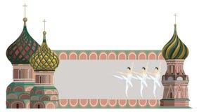 Kremlin torn stock illustrationer