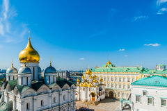 Kremlin tour 19: Archangel, Annunciation cathedral Royalty Free Stock Photography
