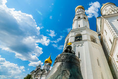 Kremlin tour 36: Archangel cathedral, Ivan the Gre Royalty Free Stock Photos