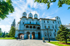 Kremlin tour 11: Patriarchs Palace of the Kremlin  Stock Photography