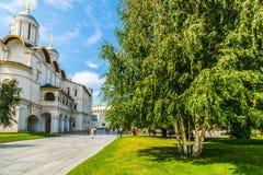 Kremlin tour 38: Patriarchs Palace of the Kremlin Royalty Free Stock Photos