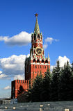 Kremlin Tower. The Moscow Kremlin Spasskaya tower Stock Photography