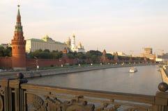 Kremlin tower stock photo