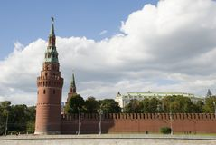 The Kremlin tower Royalty Free Stock Images
