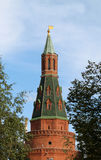 Kremlin tower royalty free stock photography