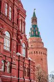 Kremlin Tower in Moscow Stock Photos