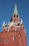 Kremlin tower on sky background Stock Photography