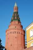 Kremlin tower on sky background Stock Image