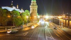 Kremlin traffic stock footage