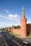 kremlin vägg Royaltyfria Foton