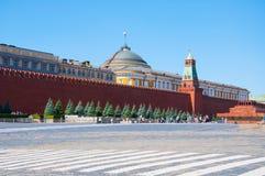 Kremlin vägg Arkivfoto