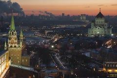 Kremlin vägg Arkivbild
