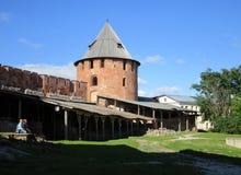 kremlin Velikiy Novgorod Russland Stockfoto