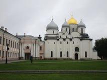 kremlin Velikiy Novgorod Russland Lizenzfreie Stockbilder