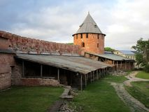 kremlin Velikiy Novgorod Russland Lizenzfreies Stockbild