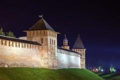 Kremlin of Veliky Novgorod Stock Images
