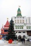 Kremlin w Izmailovo, Moskwa, Rosja Obraz Stock