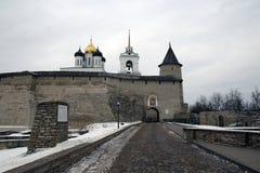 Kremlin w Pskov Fotografia Royalty Free