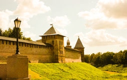 Kremlin w Veliky Novgorod Obrazy Stock