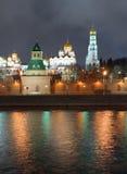 Kremlin wall stock image