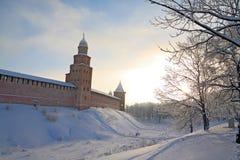 Kremlin wall Stock Images