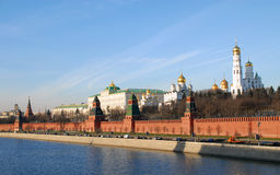 Kremlin Wall Stock Image