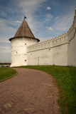 The kremlin wall in Kazan Royalty Free Stock Images