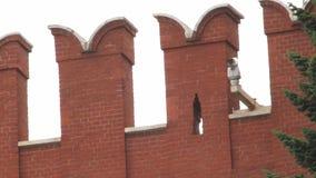 Kremlin Wall Merlons Royalty Free Stock Image