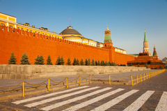 Kremlin Wall in Moscow Royalty Free Stock Photography