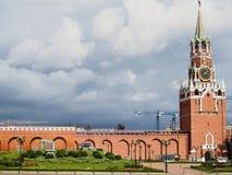 Kremlin Wall Moscow Russia Royalty Free Stock Photo