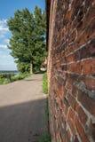 Kremlin wall. At Nizhny Novgorod. Beautiful landscape Royalty Free Stock Image