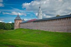 Kremlin Wall, Novgorod Royalty Free Stock Image