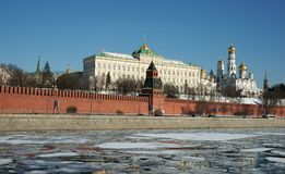 The Kremlin wall-Russia Royalty Free Stock Images