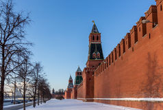 Kremlin wall Stock Photo