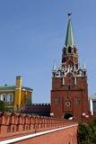 kremlin wejściowy pieszy Moscow Obrazy Stock